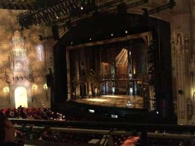 Orpheum Theatre (San Francisco), section: Loge R, row: B, seat: 18