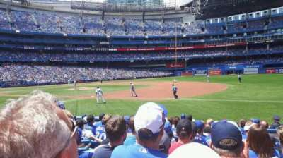 Rogers Centre, section: 114L, row: 12, seat: 103