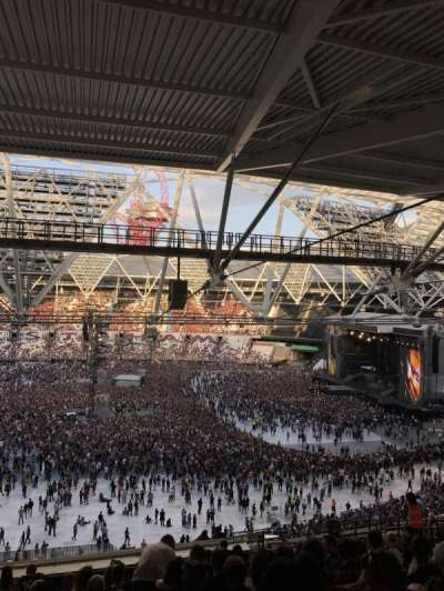 London Stadium, section: 208, row: 67, seat: 15