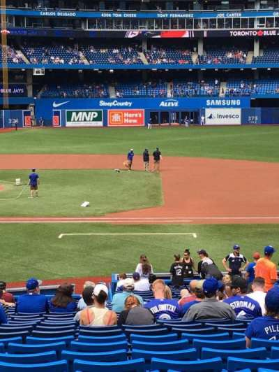Rogers Centre, section: 116L, row: 31, seat: 108