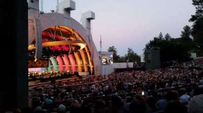Hollywood Bowl, section: E, row: 8, seat: 39