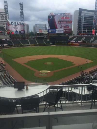 SunTrust Park, section: Ste 25, row: 1, seat: 4
