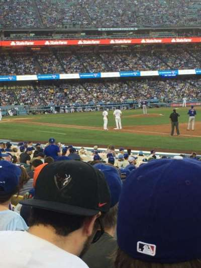 Dodger Stadium, section: 36FD, row: 11, seat: 7
