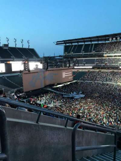 Lincoln Financial Field, section: C3, row: 16, seat: 25