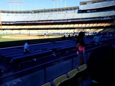 Dodger Stadium, section: 35FD, row: c, seat: 8