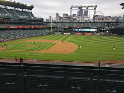 Safeco Field, section: 220, row: 2, seat: 6