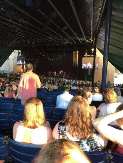 Merriweather Post Pavilion, section: Right center, row: 00, seat: 52