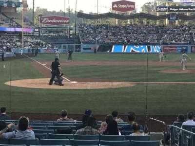 Dodger Stadium, section: 8FD, row: G, seat: 7
