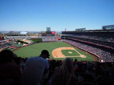 Angel Stadium section V512