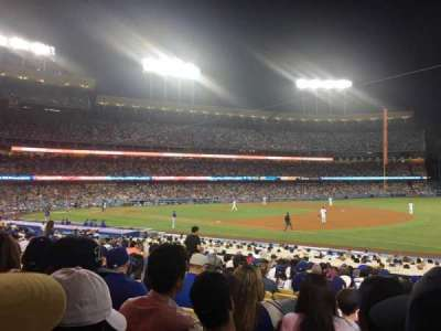Dodger Stadium, section: 34FD, row: S, seat: 4
