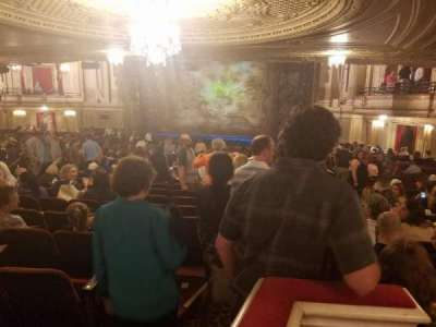 Boston Opera House, section: Orchestra, row: X, seat: 52