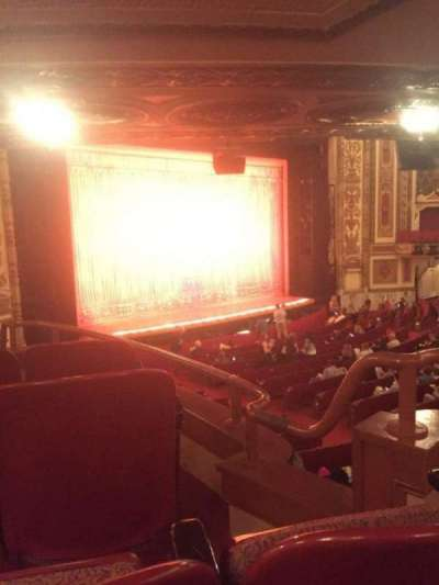Cadillac Palace Theater, section: DCIRFL, row: JJ, seat: 5