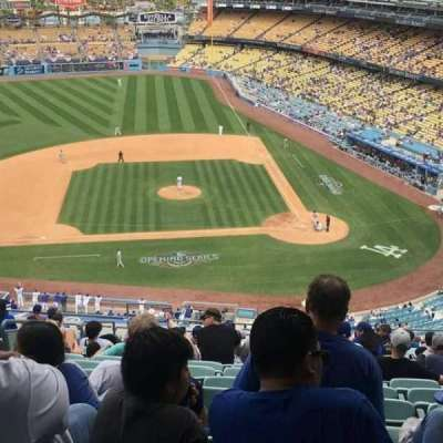 Dodger Stadium, section: 11RS, row: R, seat: 4