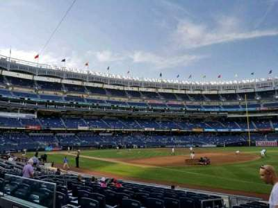 Yankee Stadium, section: 112, row: 2, seat: 12