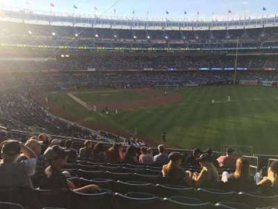 Yankee Stadium, section: 209, row: 12, seat: 4