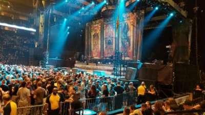 Bridgestone Arena, section: 106, row: EE, seat: 4