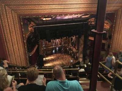 CIBC Theatre, section: Balcony L, row: L, seat: 3