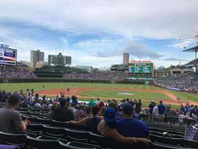 Wrigley Field section 114