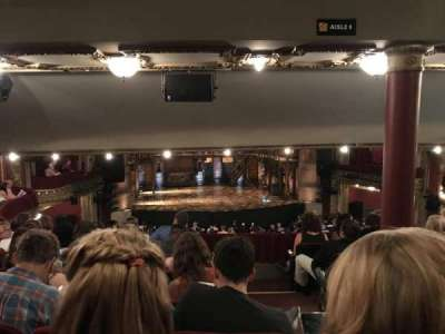 PrivateBank Theatre, section: Dress Circle LC, row: G, seat: 221