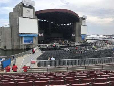 Jones Beach Theater, section: 13R, row: L, seat: 14