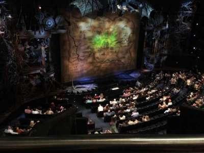 Gershwin Theatre Section Mezzanine Row Ee