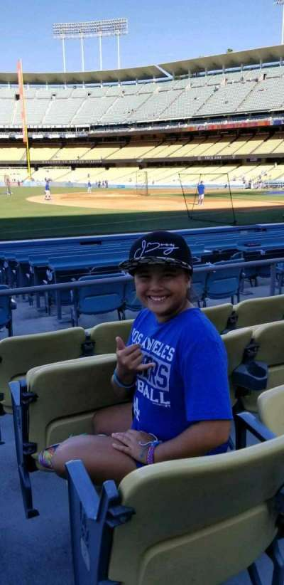 Dodger Stadium, section: 35FD, row: C, seat: 8