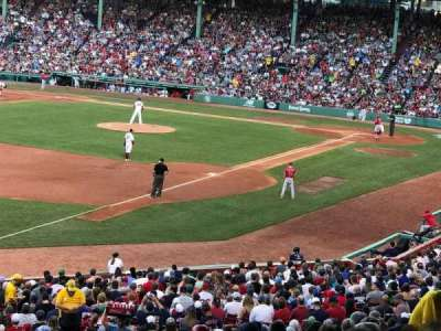 Fenway Park, section: Grandstand 31, row: 11, seat: 20