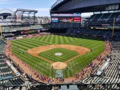 Safeco Field, section: 330, row: G, seat: 5