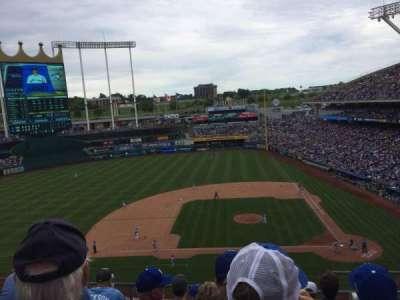 Kauffman Stadium, section: 412, row: F, seat: 11