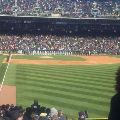 Comerica Park, section: 106, row: 38, seat: 1