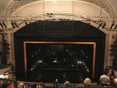 Ambassador Theatre, section: Rear Mezzanine, row: A, seat: 110