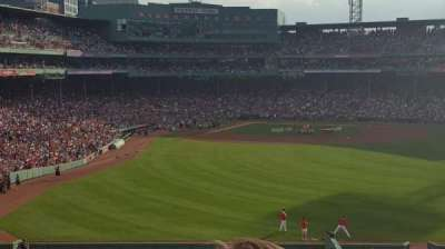 Fenway Park section Bleacher 42