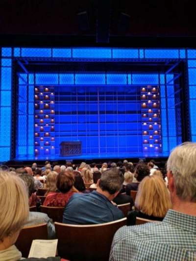 Stephen Sondheim Theatre, section: Orchestra, row: L, seat: 112