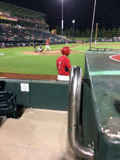Hammons Field, section: E, row: 4, seat: 25