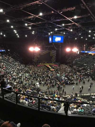 AccorHotels Arena section Balcon T