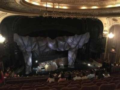 Majestic Theatre, section: Rear Mezzanine, row: H, seat: 123