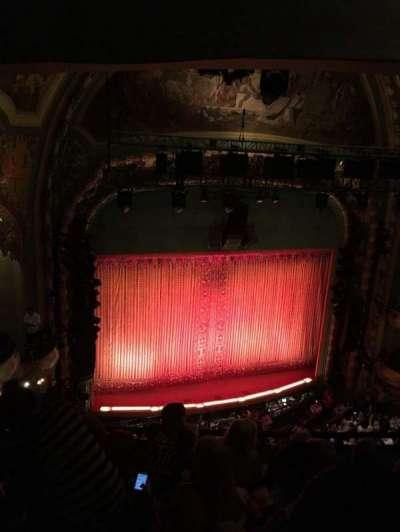 New Amsterdam Theatre, section: Balc, row: E, seat: 15