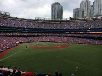 Rogers Centre, section: 207R, row: 8, seat: 10