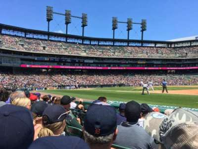 Comerica Park, section: 118, row: 6, seat: 12