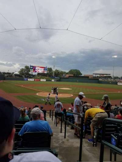 Spirit Communications Park, section: 106, row: S, seat: 26