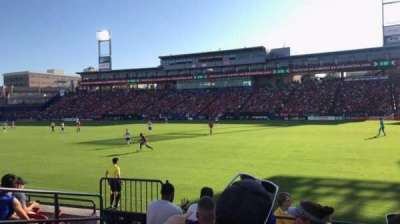 Toyota Stadium, section: 131, row: 6, seat: 4