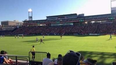 Toyota Stadium, section: 131, row: 6, seat: 4