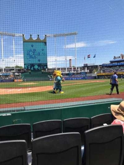 Kauffman Stadium, section: Crown 4, row: 4, seat: 3