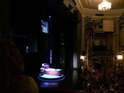 Music Box Theatre, section: Box50, row: LA, seat: 3