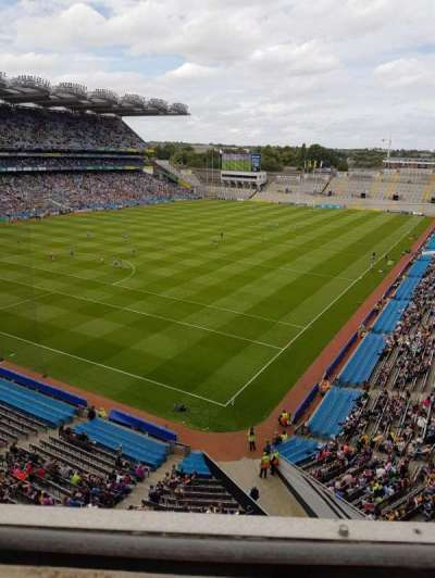 Croke Park, section: 714, row: A, seat: 13