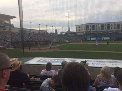 Parkview Field, section: 104, row: L, seat: 16