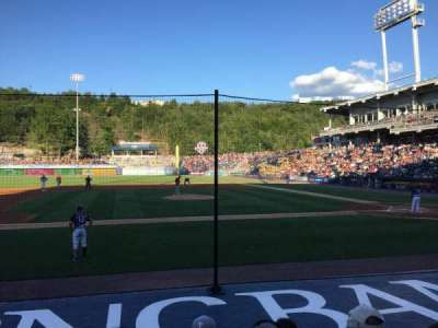 PNC Field, section: 25, row: 6, seat: 10