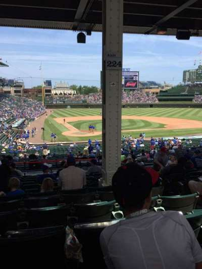 Wrigley Field   , section: 224, row: 12, seat: 104