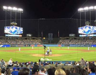 Dodger Stadium, section: 2FD, row: G, seat: 3