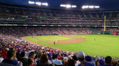Globe Life Park in Arlington, section: 39, row: 42, seat: 16